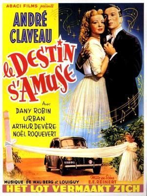Le Destin s'amuse - Poster - Belgium