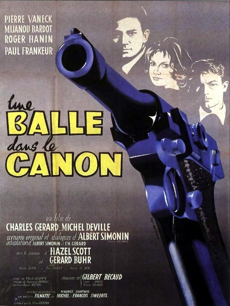 Une balle dans le canon
