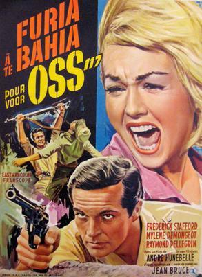 Furia à Bahia pour OSS 177 - Poster Belgique
