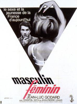 男性・女性 - Poster France