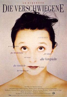 La Discrète - Poster Allemagne
