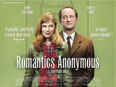 Tímidos anónimos - Poster - Royaume-Uni