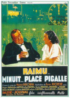 Minuit... place Pigalle