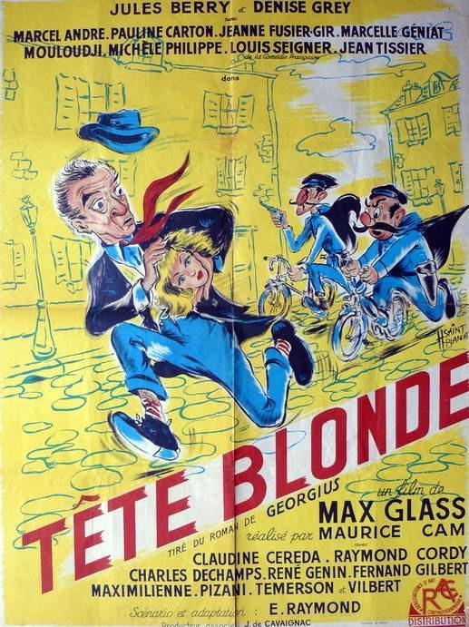 Tête blonde