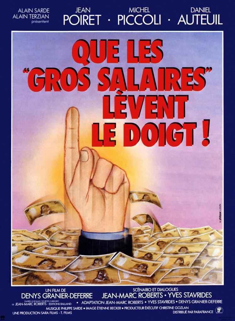 Que los grandes salarios... levanten el dedo