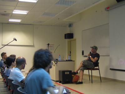 Unifrance apoya al 5º Festival de cine francés de Tel Aviv - Jan Kounen à l'université de Tel Aviv