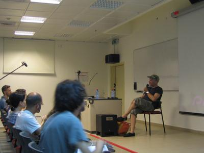 Unifrance soutient le 5e Festival du film français de Tel Aviv - Jan Kounen à l'université de Tel Aviv