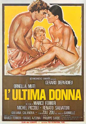 La Dernière Femme - Poster Italie