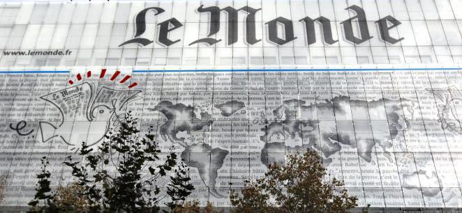 Le Monde newspaper's film reviews