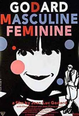 Masculino, femenino - Poster États Unis