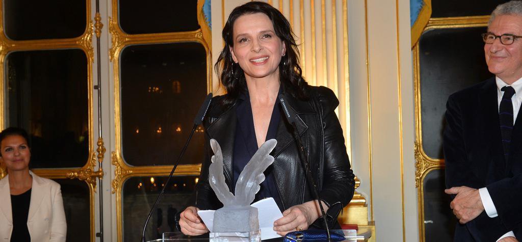 UniFrance otorga un French Cinema Award a Juliette Binoche - © Veeren Ramsamy/UniFrance
