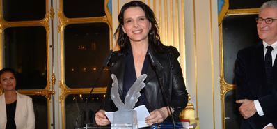 UniFrance presents a French Cinema Award to Juliette Binoche - © Veeren Ramsamy/UniFrance