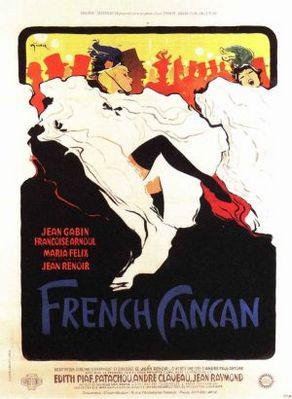 French Cancan - Poster France (4)