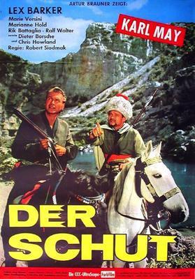 Le Prince noir / Au pays de Skipetars - Poster Allemagne