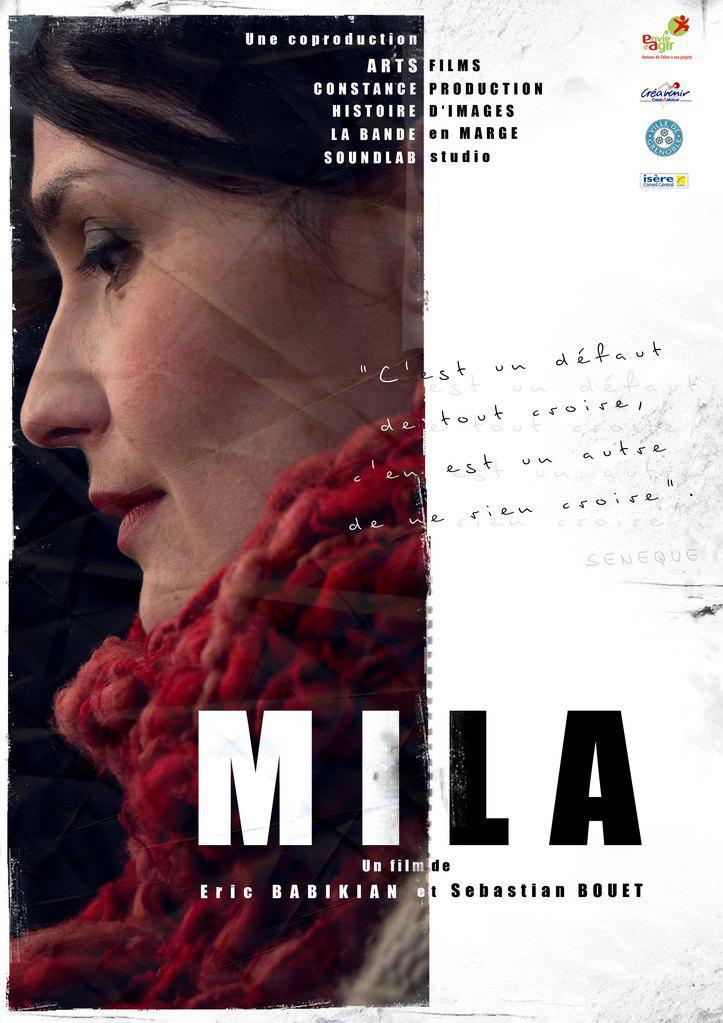 Nathalie Carlino - affiche petite taille - MILA / arts films - © Sébastian Bouet et Éric Babikian