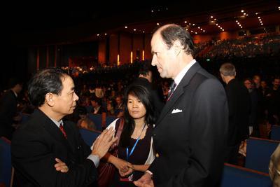 Recap of the 1st Vietnam International Film Festival - Lai Van Sinh (directeur du cinéma vietnamien) en d
