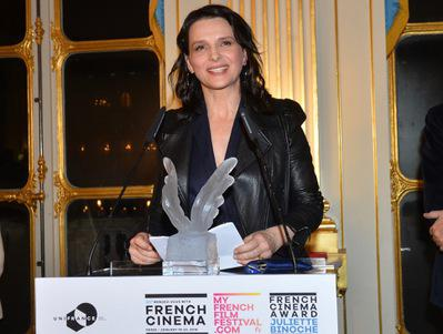 UniFrance otorga un French Cinema Award a Juliette Binoche