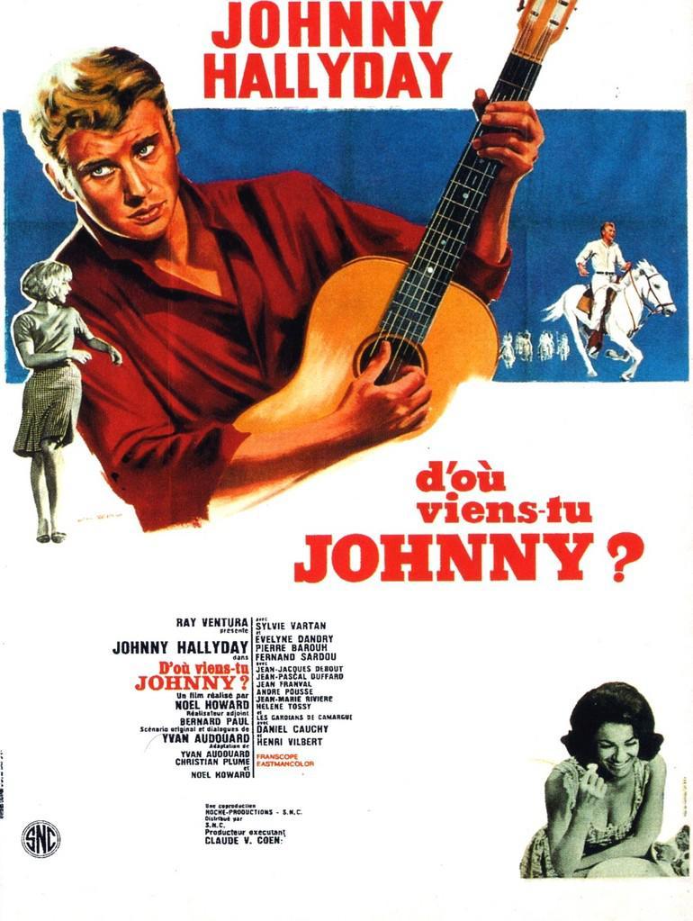 D'où viens-tu, Johnny ? affiche