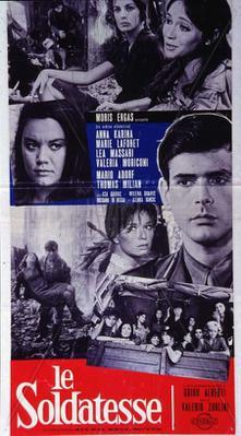 Le soldatesse - Poster Italie