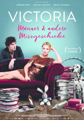 Los casos de Victoria - Poster - Germany
