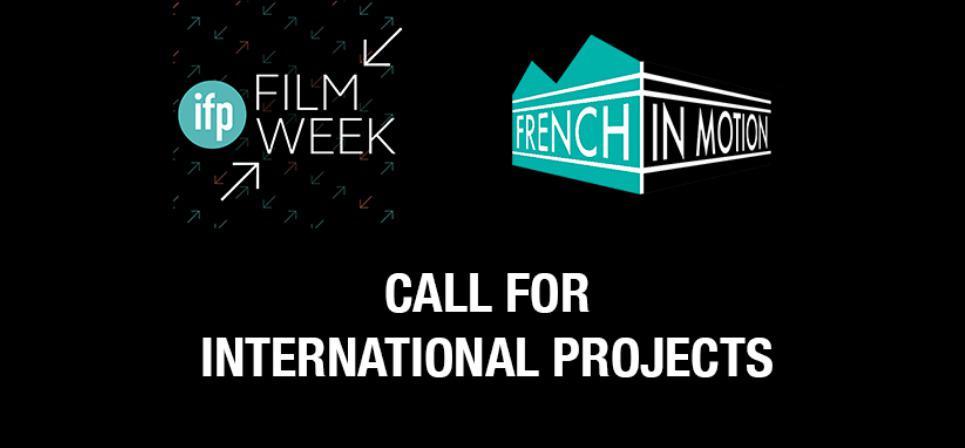 Nouvel appel à projets pour French in Motion