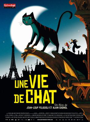 Une vie de chat - Poster - France