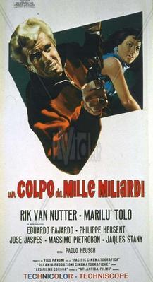 Un golpe de mil millones - Poster - Italy