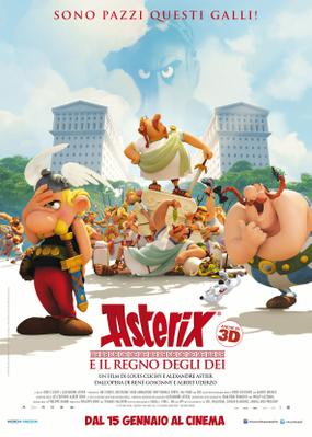 Asterix - The Mansion of the Gods - © Poster - Italy