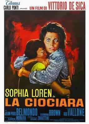 ふたりの女 - Poster - Italie
