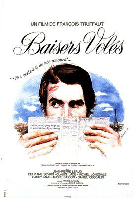 Baisers volés - Poster France