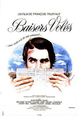 Besos robados - Poster France