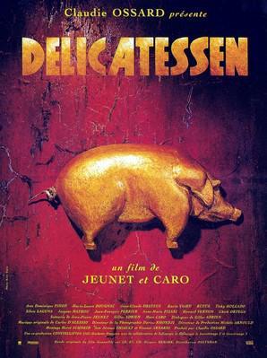 デリカテッセン - Poster - France