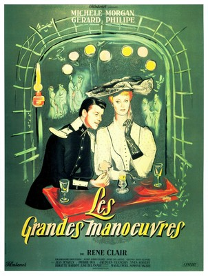 The Grand Maneuver / Summer Maneuver - Poster France