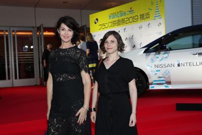 June 20: Opening of the 27th French Film Festival in Japan - Zabou Breitman et Eléa Gobbé-Medellec - © Laurent Campus