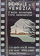 ヴェネツィア国際映画祭 - 1934