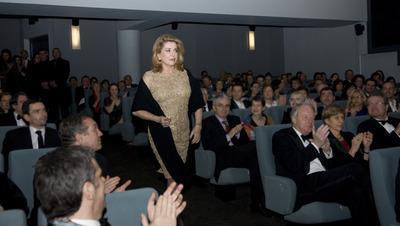Reapertura del Cine Lumière en Londres, con Catherine Deneuve - © Pablo Goikoetxea
