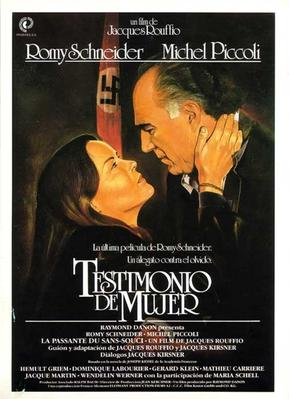Testimonio de mujer - Poster Espagne