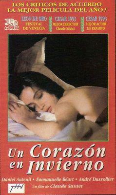 Un coeur en hiver - Poster Argentine