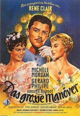 Les Grandes Manœuvres - Poster Allemagne
