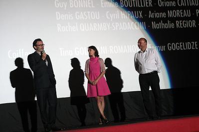 French films at the Sarajevo Film Festival - Michel Hazanavicius, Bérénice Bejo & Mirsad Puriva