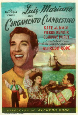 Cargamento clandestino - Poster - Spain