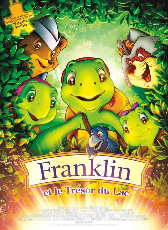 Franklin et le tresor du lac / 仮題:フランクリンと湖の宝物 - Poster France