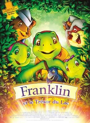 Franklin et le trésor du lac - Poster France