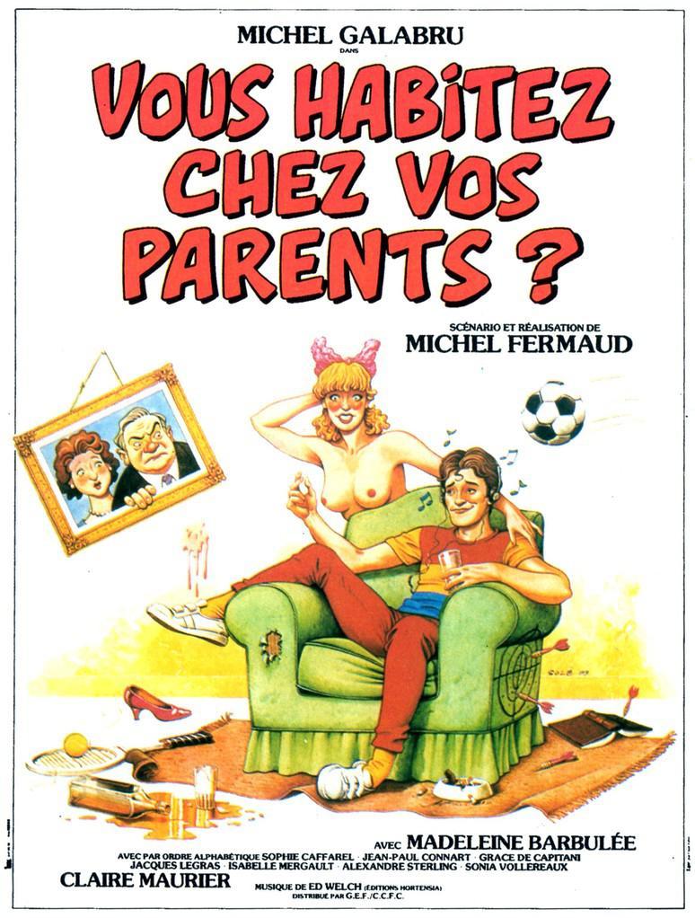 Vous habitez chez vos parents ?