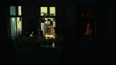 Berlin Night Window