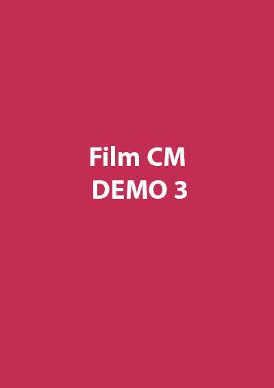 Film CM Demo 3