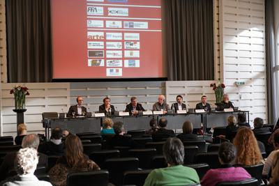 Review of the 6th Franco-German Film Meetings - Débat sur la VoD - © (c) Udo Thomas