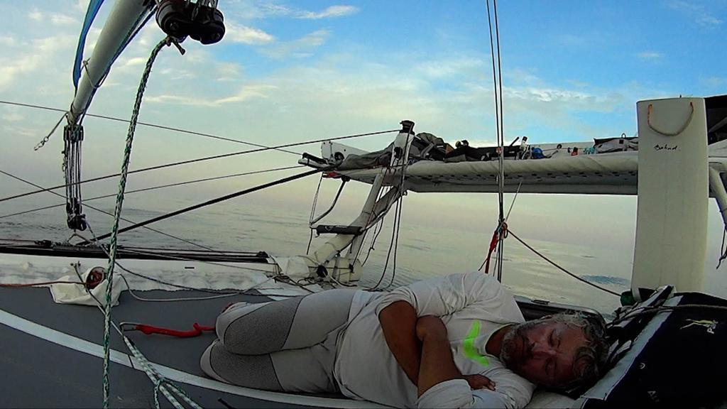 En équilibre sur l'océan