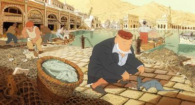 Le Chat du rabbin - © Autochenille Production