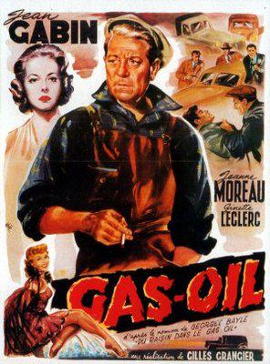Gas-Oil - Poster Belgique